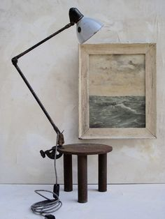 1940 Sirius Schweinfurt Task Lamp (SIS) My neighbors are all artists and collectors. One in particular is a collector of lamps - crazy amounts of l...