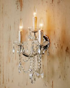 Wall Sconce Chandelier Mural : Chandeliers on Pinterest Chandeliers, Crystal Chandeliers and Lighting