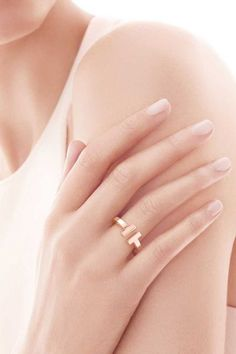 Tiffany & Co. Tiffany T Square Ring, $1200 www.refinery29.co...