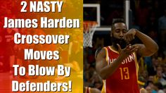 How To Crossover Like James Harden Ankle Breaker Basketball Moves Tutorial