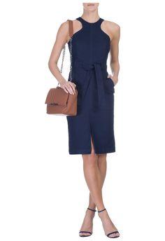 LE LIS BLANC - Vestido jeans Maria - azul - OQVestir