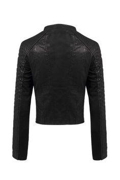 Multi Stitch Biker Jacket - US$49.95