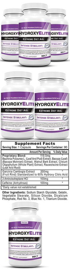 3 X Hi-Tech Pharmaceuticals Hydroxy Elite Extreme Diet Aid 270 caps HydroxyElite