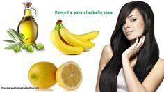 Mascarilla de Platano para el Cabello Seco - Para Más Información Ingresa en: http://trucoscaserosparaelpelo.com/mascarilla-de-platano-para-el-cabello-seco/