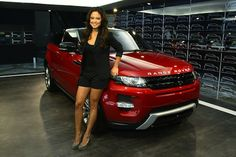 Vanessa Minnillo posed next to a red Range Rover Evoque at the Range Rover Evoque Live event in New York city recently. It's no secret that Rovers are one of the most popular SUV's among celebrities and Vanessa looks good next to the Evoque but do you think it will be a hit for other celebrities? www.landroversanjuantx.com