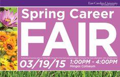 ECU Spring Career Fair 2015