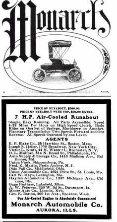 1904 Monarch Automobile Advertisement
