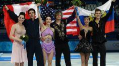 2014 Sochi Ice Dancing - USA - Gold; Canada - Silver; Russia - Bronze