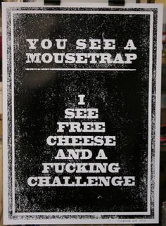'Free Cheese' by artist Scroobius Pip