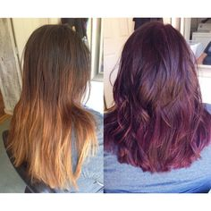 Kenra Color 5 oz 6RV & 1 oz Violet Booster with 20vol  – By Johnnie Smith http://instagram.com/johnnie_prettibloom