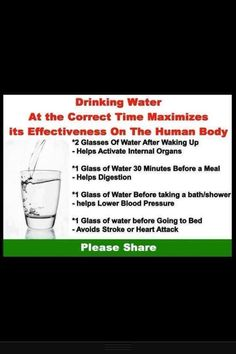 Water intake
