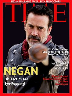 IF MAGAZINES WERE STILL AROUND IN THE WALKING DEAD | Jeffrey Dean Morgan as Negan from The Walking Dead | The Walking Dead from Skybound