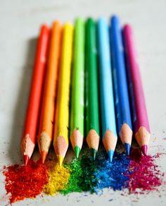 ¿Dibujamos un arco iris? #rainbow #arcoiris #colores