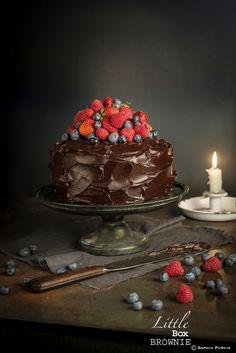 Ultimate Chocolate Berries Cake