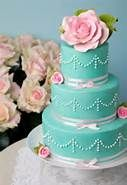 unique pink and blue wedding cake - Bing Images