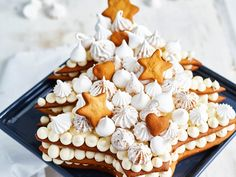 Waffles, Cake Recipes, Food And Drink, Cookies, Christmas Ornaments, Breakfast, Advent, Desserts, Crack Crackers