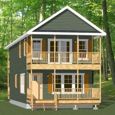Shed House Plans, Lake House Plans, House Floor Plans, Garage Plans, Small Lake Houses, Tiny Houses, Pole Barn Construction, Architectural Design House Plans, Brick Paneling