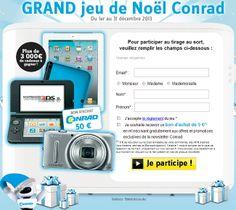 Gagnez une tablette Apple iPad 2 avec Conrad
