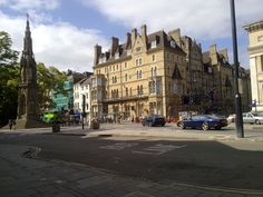 The Randolph Hotel where we stayed in Oxford ; ( and where my mother stayed when she was 19!)