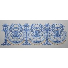 """http://www.astitchahalf.com/border-montage-01.html    Quick Overview  Stitch out these designs as singles or continuous borders to create a beautiful edging on your linnen, hemline, cuffs and collars.  Available Size  4"""" x 4"""" (100mm x 100mm) Hoop"""