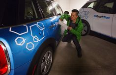 BMW launched its Seattle-based ReachNow program, featuring BMWs and Mini Coopers, in the spring. It's expanding to Sea-Tac Airport, and soon to Portland. (Ellen…