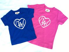 LA Dodgers baseball LOVE baby onesie shirt, baseball fan, Los Angeles DODGERS, baby shower gift, Dodgers baby shirt_Christmas gift