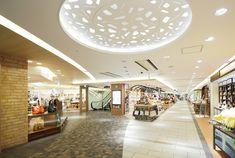 Mall Design, Interior Decorating, Interior Design, Shopping Malls, Food Court, Entrance Doors, Shopping Center, Ceiling Design, Office Interiors