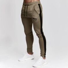 New 2018 Brand Sweatpants Gold Medal Fitness Casual Elastic Embroidered Pants Stretch Cotton Men's Pants Jogger Bodybuilding Mens Jogger Pants, Mens Trousers Casual, Sport Pants, Men Casual, Casual Pants, Men's Pants, Joggers For Men, Tracksuit Pants, Casual Winter
