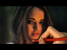 Potrait Drawing A Gorgeous Moment - Realistic Pastel Drawing - ThePortraitArt Video - Pastel Drawing, Pastel Art, Pastel Paintings, Painting Videos, Painting Lessons, Art Lessons, Learn Art, Make Art, Pastel Portraits