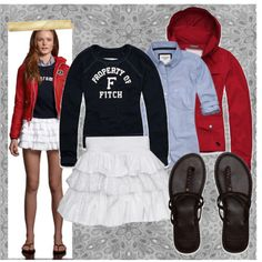 Abercrombie and Fitch outfit on polyvore
