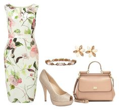 """""""Untitled 160"""" by cristina-de-zotti-nassis on Polyvore featuring Dolce&Gabbana, Phase Eight, Menbur and LE VIAN"""
