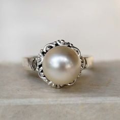 Hey, I found this really awesome Etsy listing at https://www.etsy.com/listing/202618575/tribal-ornament-ring-round-pearl
