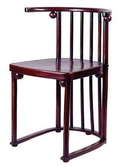Perfect Wiener Werkstätte. Chair, 1908 // Designed By Josef Hoffmann. Antique  FurnitureJoseph HoffmanFurniture ...