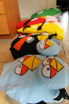 Dragonfly Designs: ANGRY BIRDS ~ Costume Tutorial and Patterns for the whole family!