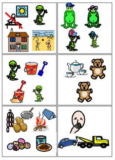 Symbols (c) Widgit Software 2010. Using the program Communicate:In Print you can help children with little speech but lots of ideas to get something on paper. Making story-boards provides the opportunity to elicit ideas, organise narrative, invite choosing, and make the child's idea come alive. The adult can add text later and put symbol support on critical key words. Then an adult can read the text and the child can 'read' the symbolised words to tell the story.