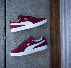 This Burgundy Colorway Of The PUMA Suede Classic Is Flawless • KicksOnFire.com