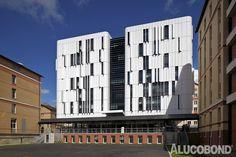 St Joseph Maternity Clinic, Paris | France | AIA Architects Ingenieurs Associés, Paris | Photo: G. Satre/AIA Architects Ingenieurs Associés | ALUCOBOND® White