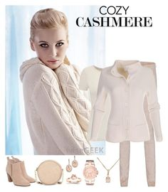 """""""Cozy Cashmere Cardigan"""" by horcal ❤ liked on Polyvore featuring Arma, Magaschoni, Michael Kors, Kevin Jewelers and Neiman Marcus"""
