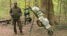 Witness the revolutionary M.U.L.E. Backpacking System make load carry a breeze.