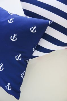 Nautical cobalt blue pairs brightly with practically any color.