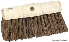 Hills Brush Bass Broom Pure Sherbro 13 x 3 5 pure sherbro bass broom double hole waxed ends Manufactured using long lasting hardwearing