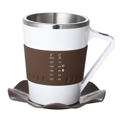 This coffee mug is minimalistic design, environmentally friendly and temperature indicating. It can easily be used for hot beverages, such as tea and coffee. Th