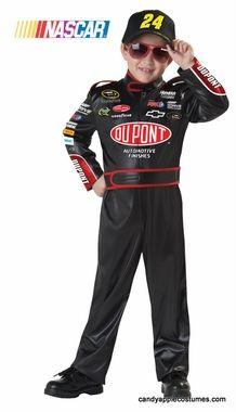 Child's Jeff Gordon NASCAR Costume