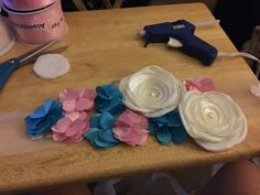 Gender reveal sash, DIY