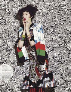 visual optimism; fashion editorials, shows, campaigns & more!: busy bodies: anastasija kondratjeva by jamie nelson for fashion canada march 2013