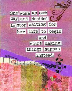START MAKING IT  _____________ [#m_eye_nd]  [#wizdomly]  [#FreeYourMeyeND] [#quotes]  [#inspiration]  [#HigherAwakening]  [#PLUR]  [#india]  [#instagood]  [#instadaily]  [#freeyourmind]  [#1ove]