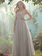Bridesmaids Dress: Disney Alfred Angelo Bridesmaids Collection - 503 Satin - All 60 Bridesmaids Colours