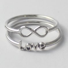 Infinity Sign Ring - 925 sterling silver Ring