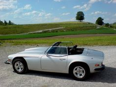 TVR 3000S first convertible. Photoshoot model for brochure.