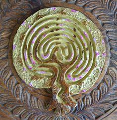 Cherry Blossom Tree of Life Finger Labyrinth